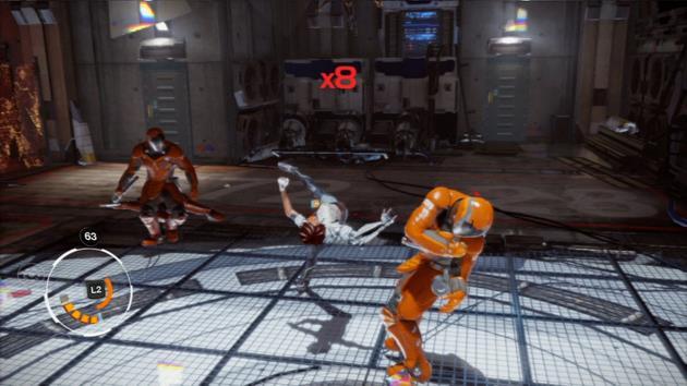 Version PS3 : Des combats tactiques où il faut avoir le sens du rythme.