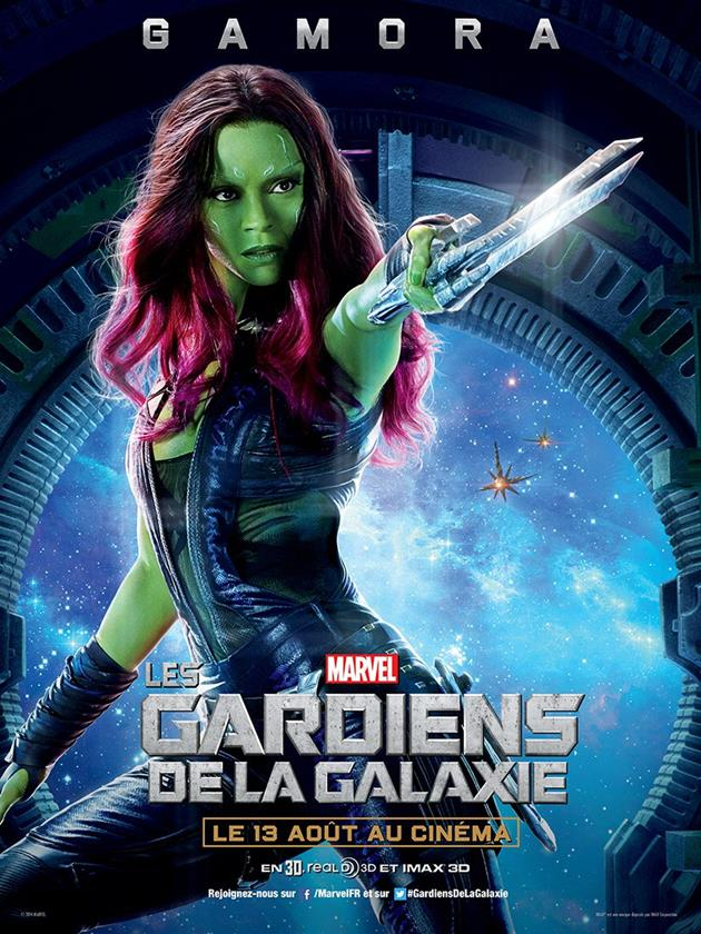 Affiche Gamora
