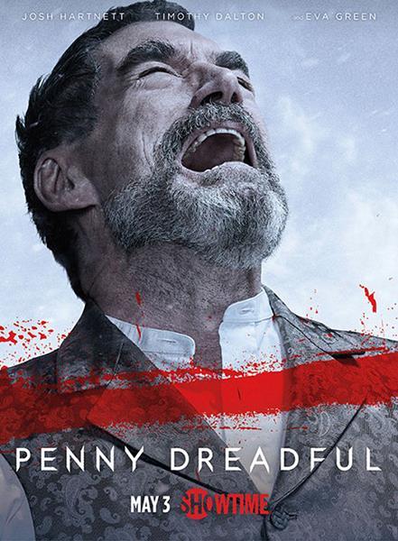Affiche saison 2 US - Timothy Dalton