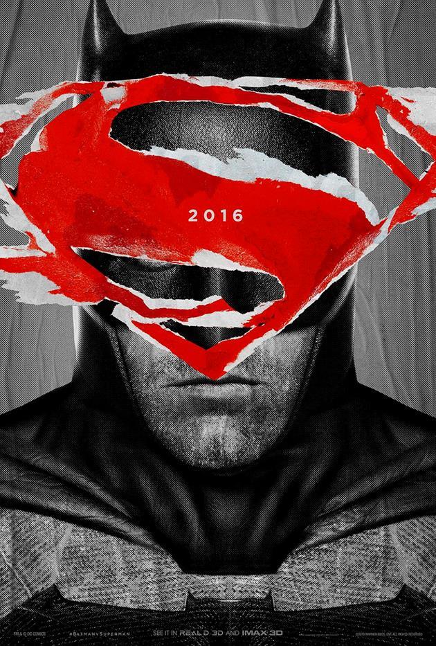 Affiche teaser Dawn of Justice - Batman