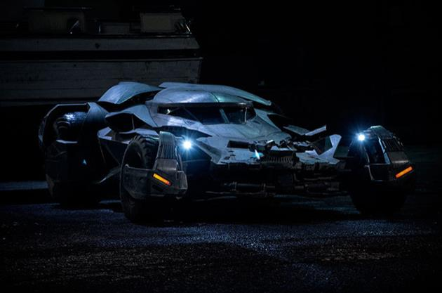 La nouvelle batmobile en situation réelle