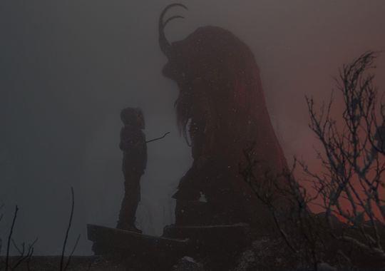 Le Krampus sort de l'ombre