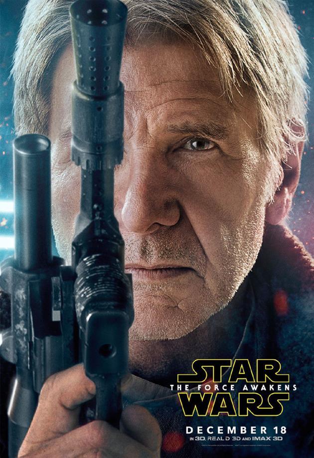 Affiche personnage Han Solo