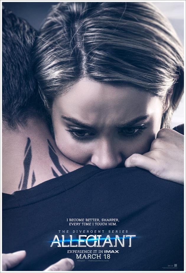 Affiche Tris embrasse Four