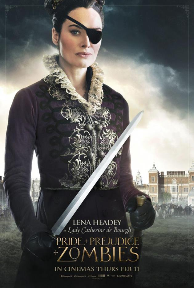 Affiche personnage Lady Catherine de Bourgh