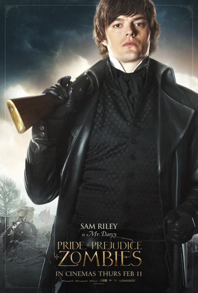 Affiche personnage Mr Darcy
