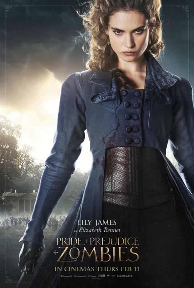 Affiche personnage Elizabeth Bennet