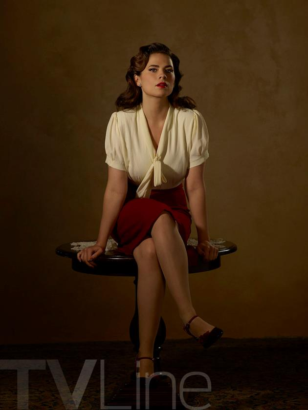 Affiche personnage Agent Carter