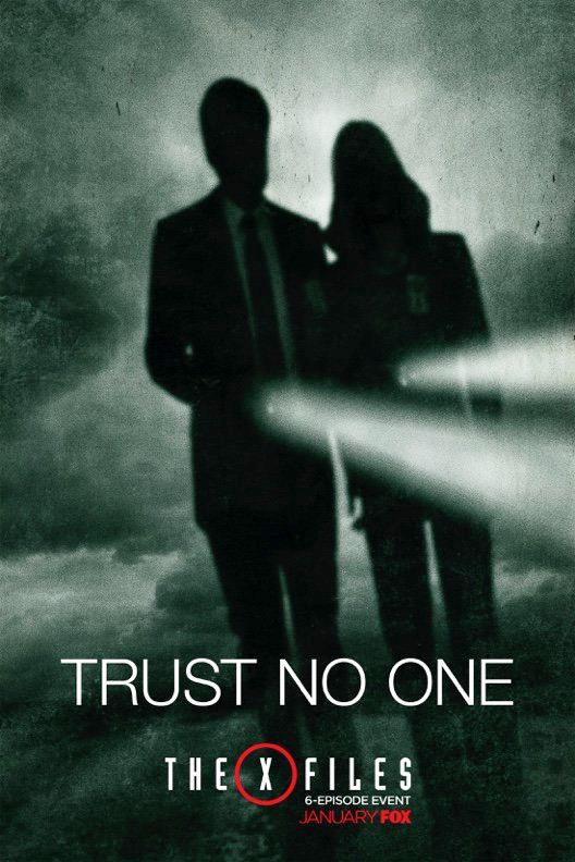 Affiche Trust No One - old school