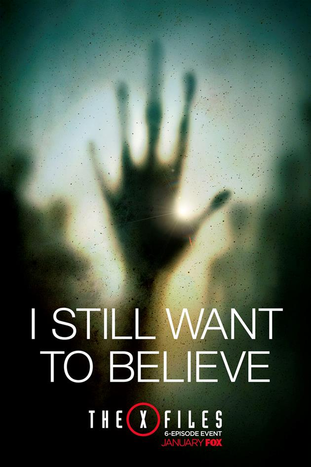 Affiche I Still Want to Believe - Main E.T.
