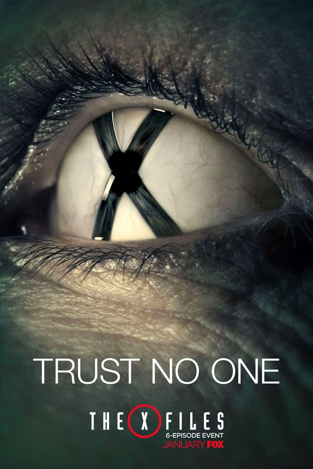 Affiche Trust No One - Oeil X