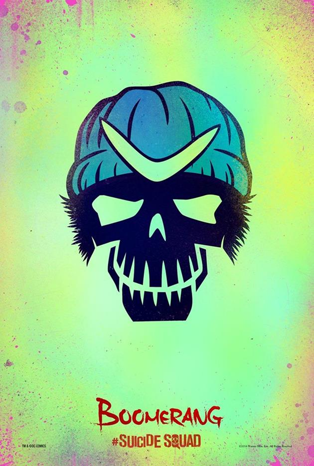 Affiche Suicide Squad - Boomerang