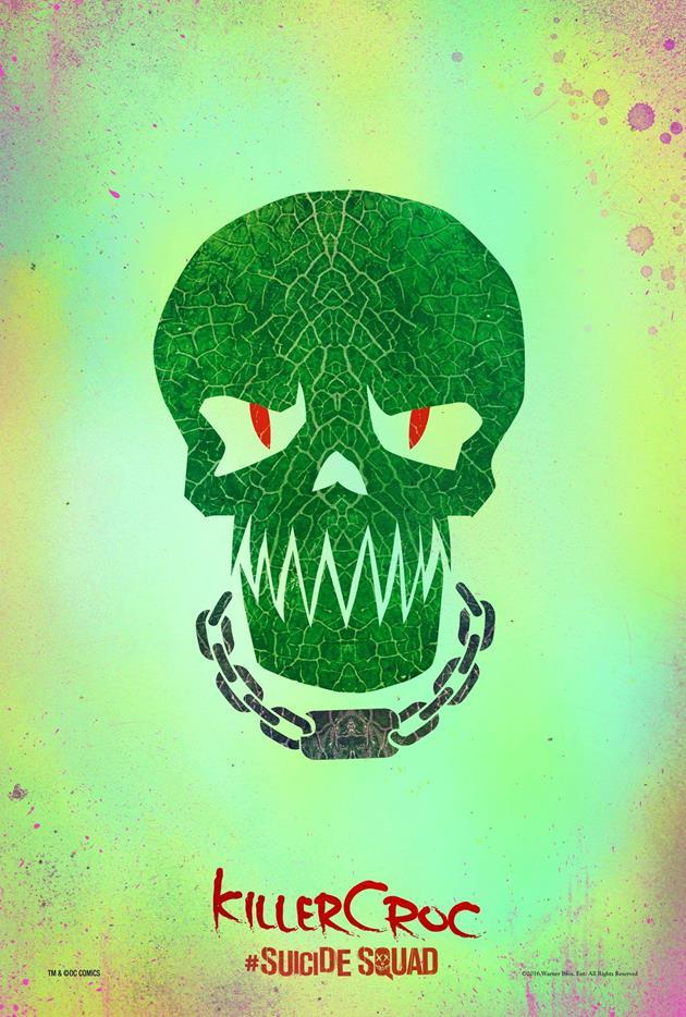 Affiche Suicide Squad - Killer Croc