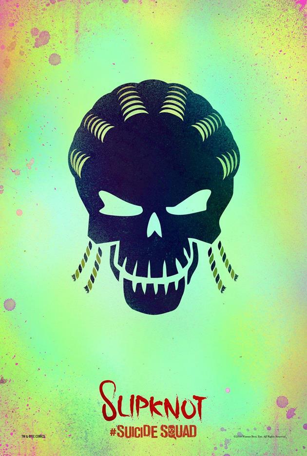 Affiche Suicide Squad - Slipknot
