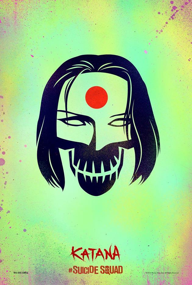 Affiche Suicide Squad - Katana