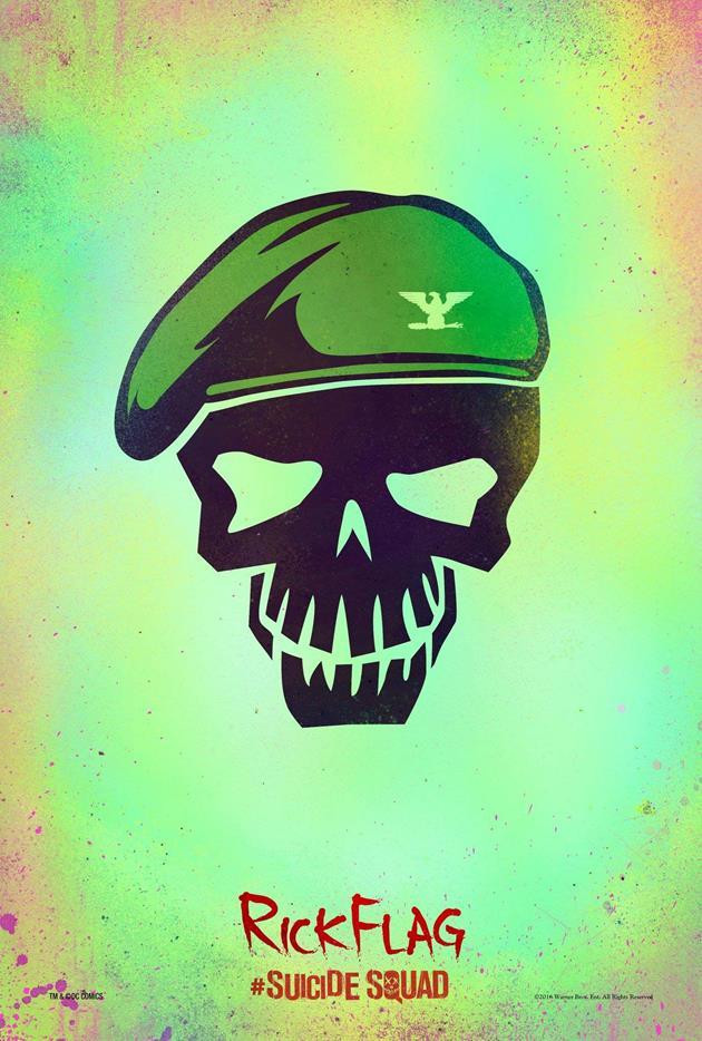 Affiche Suicide Squad - Rick Flag