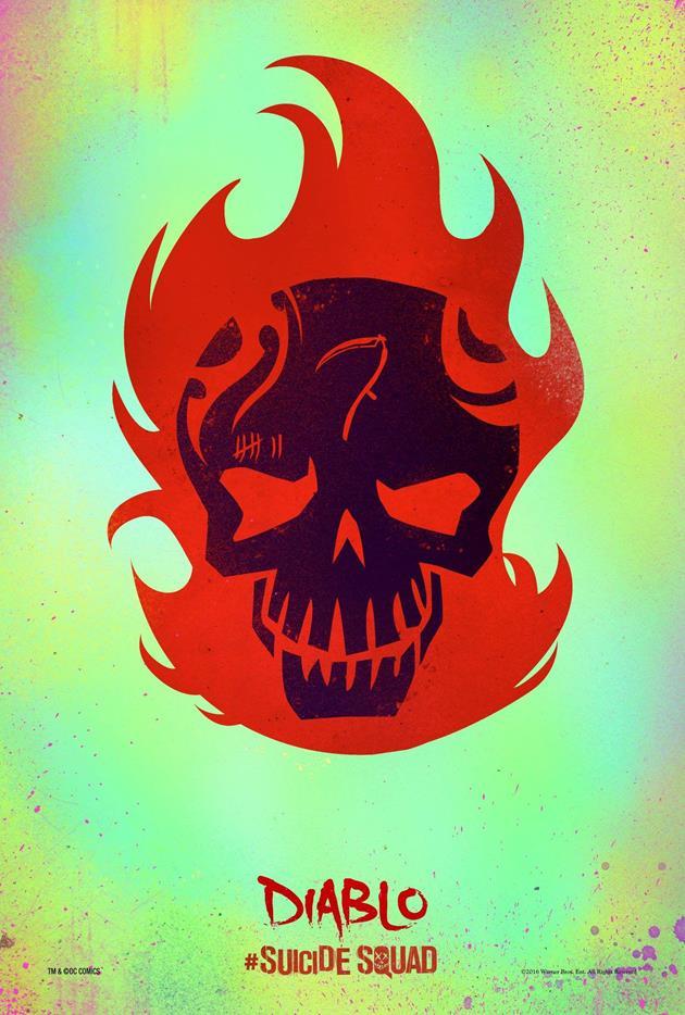 Affiche Suicide Squad - Diablo