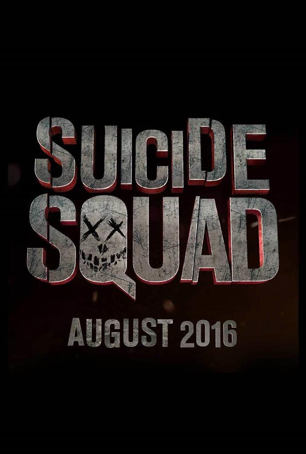 Affiche teaser Suicide Squad