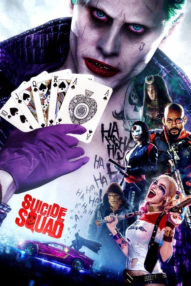Affiche personnages Suicide Squad