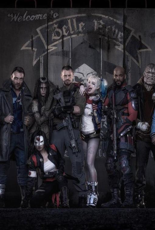 Affiche teaser Suicide Squad Welcome