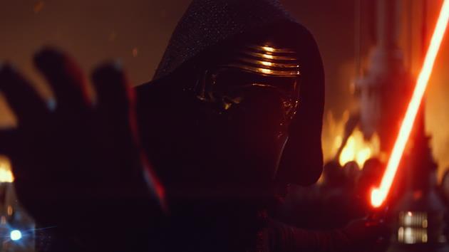 Kylo Ren utilise le côté obscur