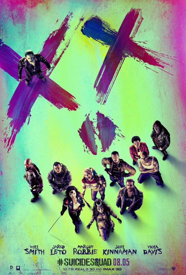 Poster Assemble Squad Task Force X