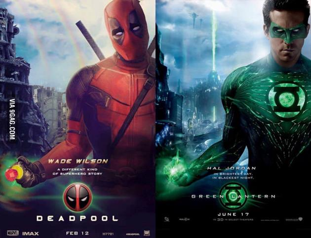 Deadpool vs Green Lantern - La force du marketing