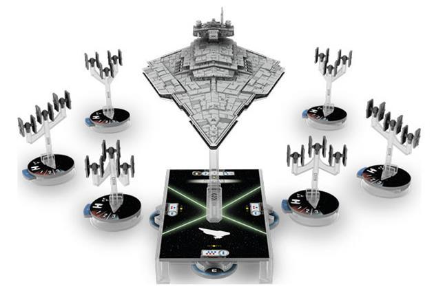 La flotte impériale.