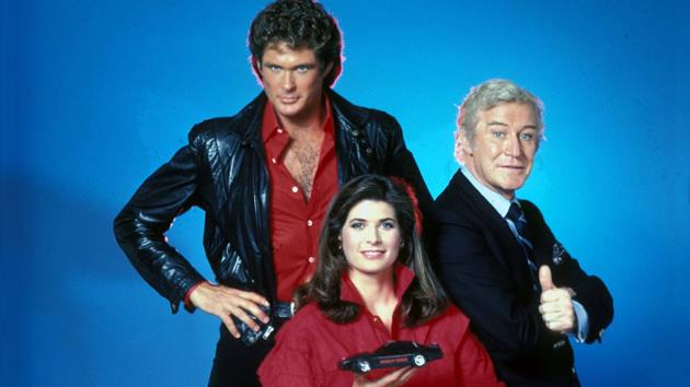 L'équipe des industries Knight : Michael, Bonnie et Devon