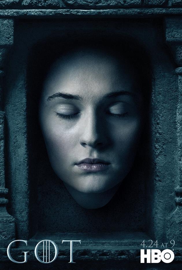 Affiche Promotionnelle - Tête de Sansa Stark
