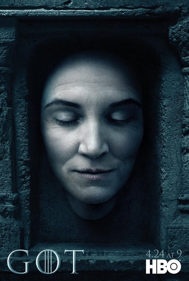 Affiche Promotionnelle - Tête de Catelyn Stark