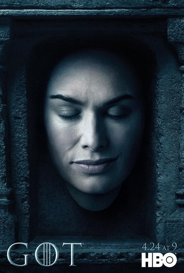 Affiche Promotionnelle - Tête de Cersei Lannister