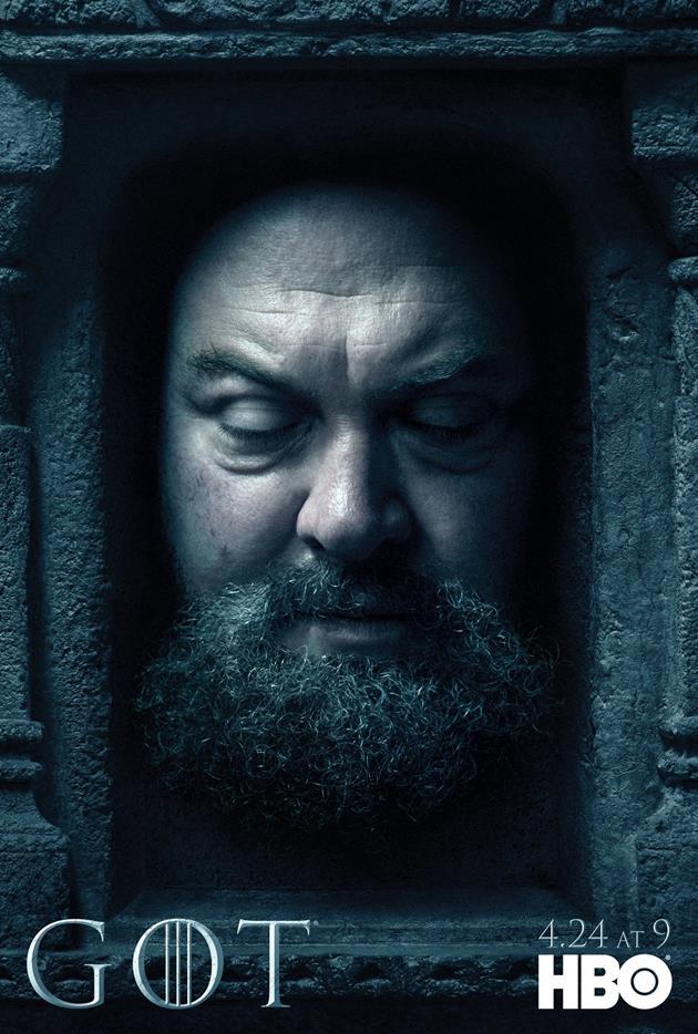 Affiche Promotionnelle - Tête de Robert Baratheon