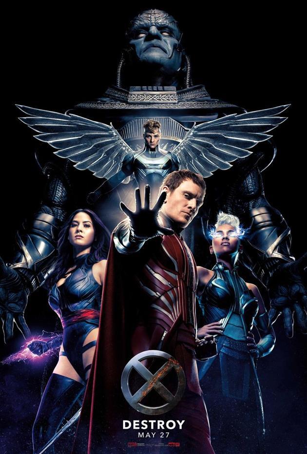 Affiche DESTROY pour les partisans de Magneto