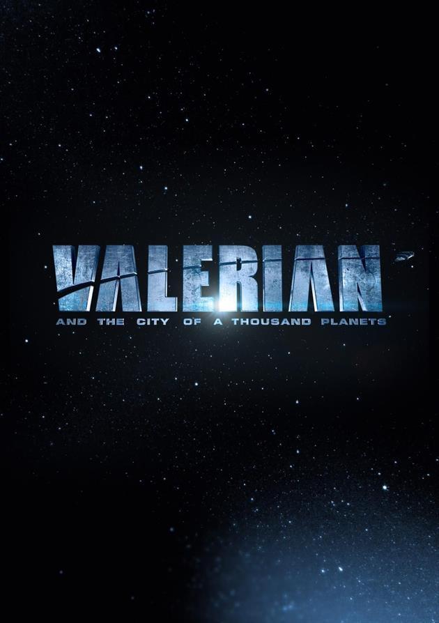 Affiche teaser américaine de Valérian