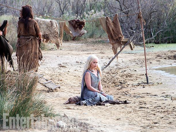 Daenerys un peu laissée à l'abandon