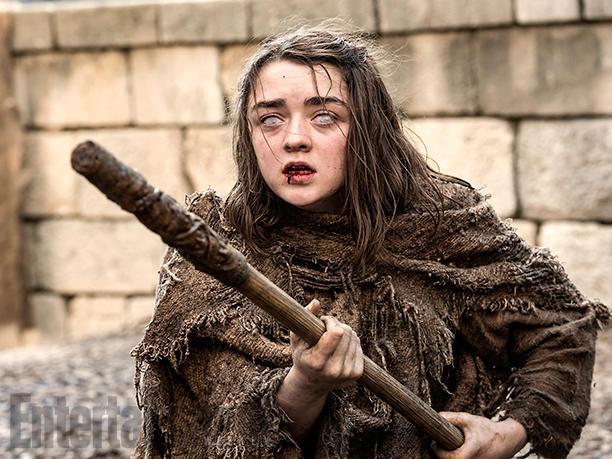 Arya Stark enfin prête pour servir le Dieu Multiface