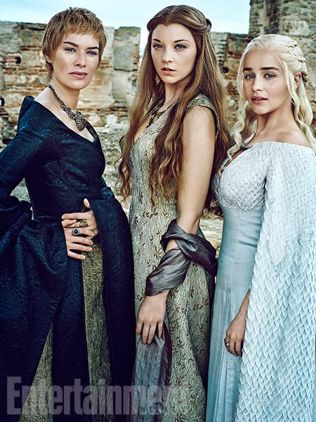 Dame of Thrones - Cersei, Margaery et Daenerys