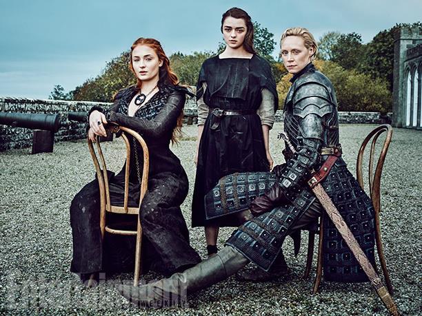 les Dame of Thrones prennent la pose