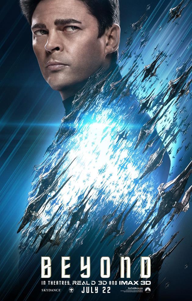 Affiche Personnage Star Trek Beyond - McCoy
