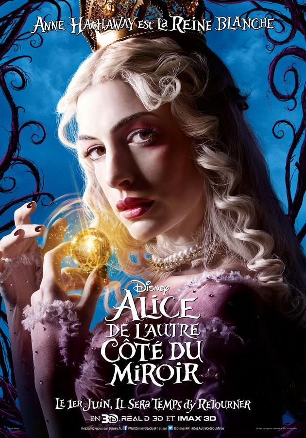 Affiche Anne Hathaway est La Reine Blanche