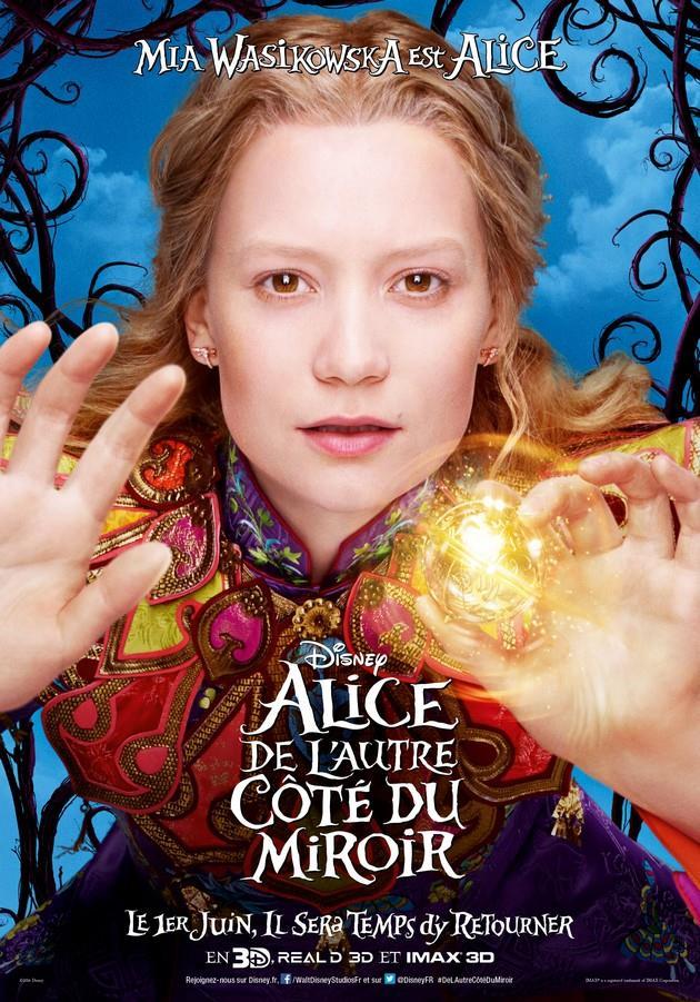Affiche Mia Wasikowska est Alice