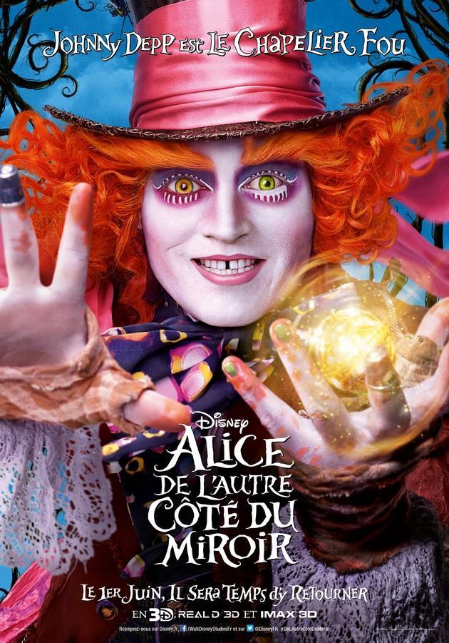 Alice de l 39 autre c t du miroir affiches affiche for De l autre cote du miroir