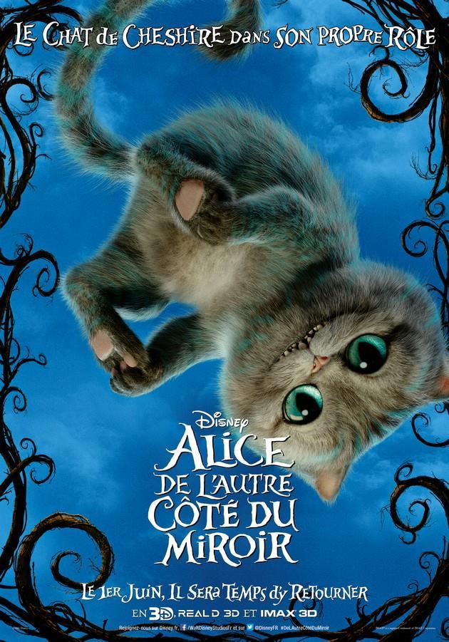 Affiche le chat de Cheshire dans son propre rôle