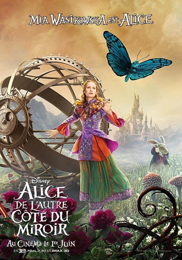 2ème Affiche Mia Wasikowska est Alice