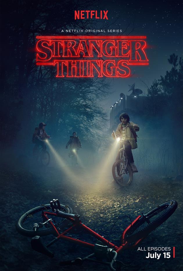 Affiche américaine pour Netflix