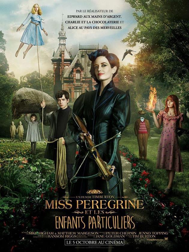 Affiche française Miss Pérégrine et les enfants particuliers