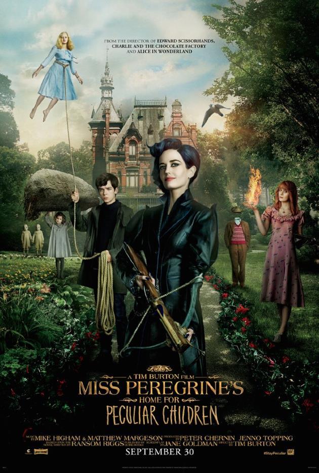 Affiche américaine Miss Peregrine Home for Peculiar Children