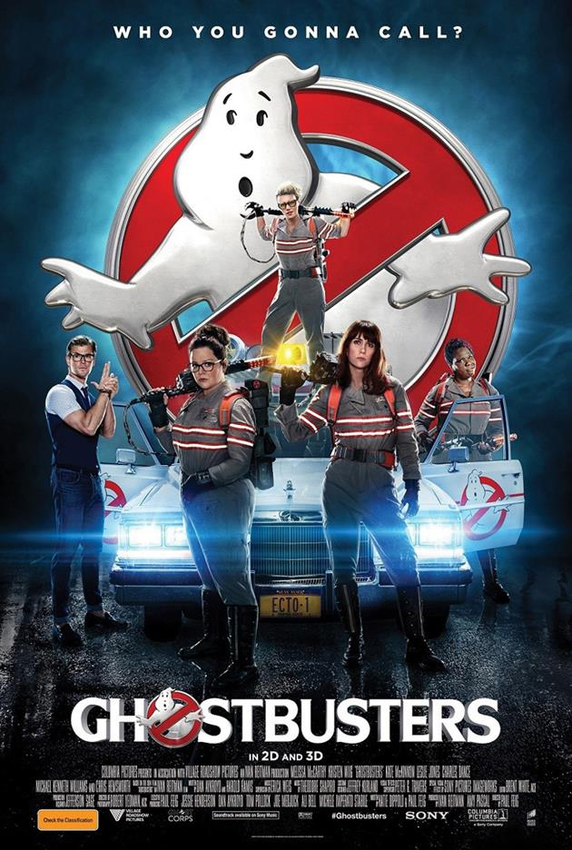 Affiche américaine - Who you gonna call ?