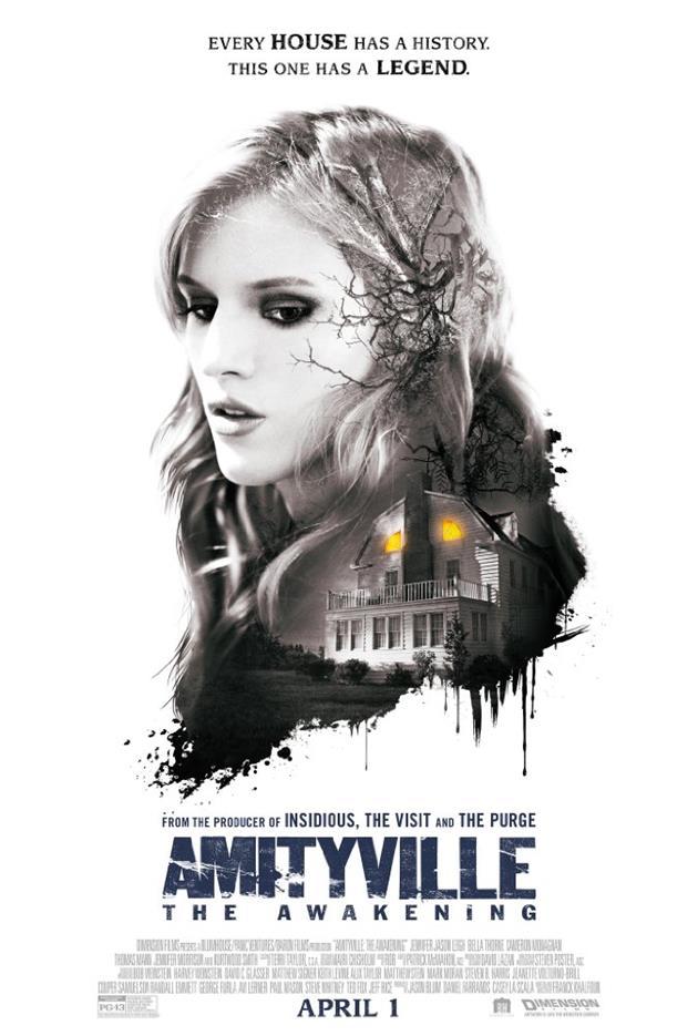 Affiche teaser américaine d'Amityville The Awakening